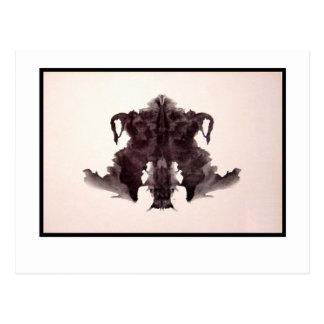 Rorschach Inkblot 4.0 Postcard