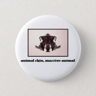 Rorschach Inkblot 4 Pinback Button