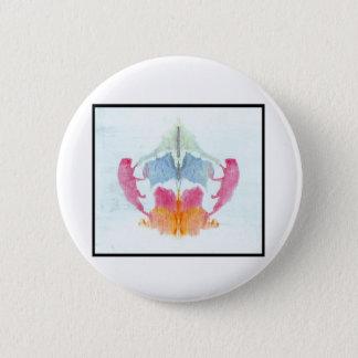 Rorschach Inkblot 8.0 Pinback Button