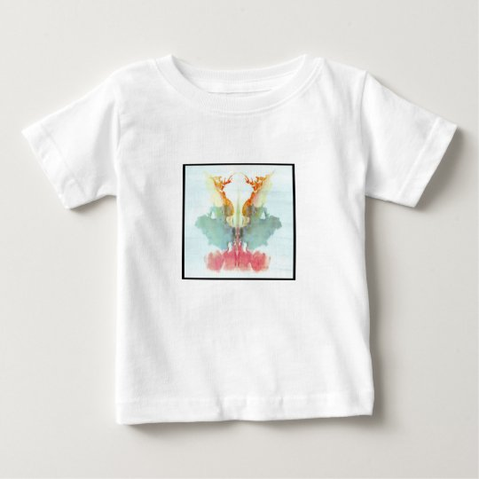 Rorschach Inkblot 9.0 Baby T-Shirt