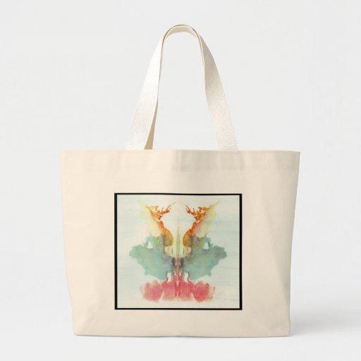 Rorschach Inkblot 9.0 Canvas Bags