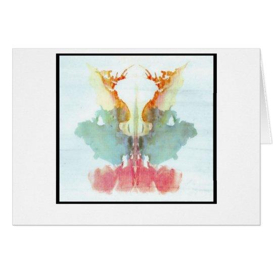 Rorschach Inkblot 9.0 Card