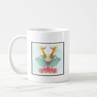 Rorschach Inkblot 9.0 Classic White Coffee Mug