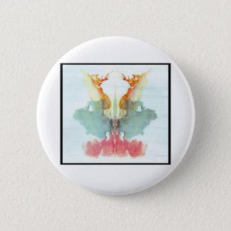 Rorschach Inkblot 9.0 Pinback Button