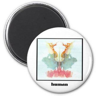 Rorschach Inkblot 9 2 Inch Round Magnet