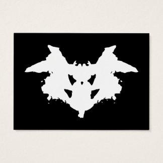 Rorschach Inkblot Business Card