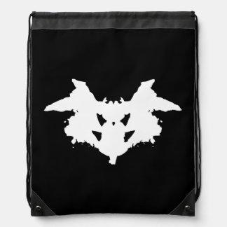 Rorschach Inkblot Drawstring Backpack