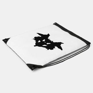 Rorschach Inkblot Drawstring Bag