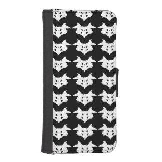 Rorschach Inkblot iPhone SE/5/5s Wallet