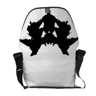 Rorschach Inkblot Messenger Bag