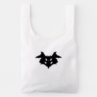 Rorschach Inkblot Reusable Bag