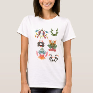 Rorschach Inkblot Test All Sorts of Crazy T-Shirt