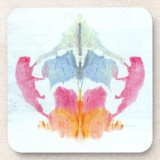 Rorschach Inkblot Test Beverage Coaster