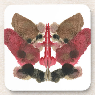 Rorschach Inkblot Test. Don't Call Me Crazy Beverage Coasters