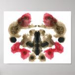 Rorschach Inkblot Test Fun Art Print