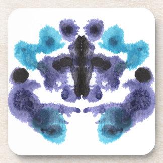 Rorschach Inkblot Test Fun Drink Coaster