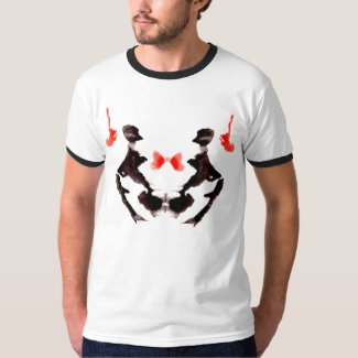 Rorschach Inkblot Test Number 3 T-Shirt