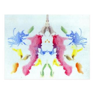 Rorschach Inkblot Test Post Cards