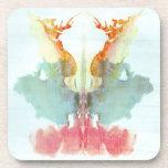 Rorschach Inkblot Test Psychiatry Beverage Coasters