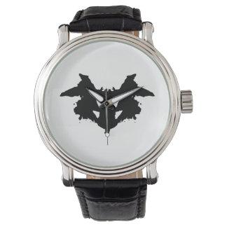 Rorschach Inkblot Wristwatches