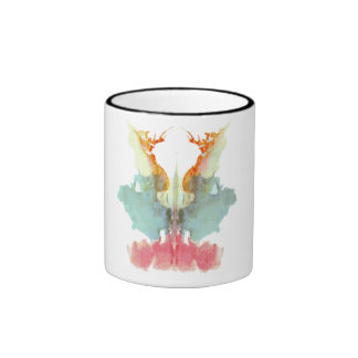 Rorschach Inkblots 9 Ringer Mug