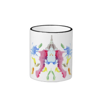Rorschach  InkBlots Test Plate 10 Ringer Mug