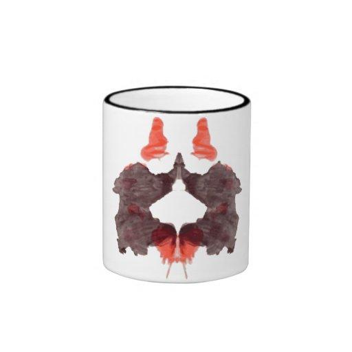 Rorschach  InkBlots Test Plate 2 Coffee Mugs