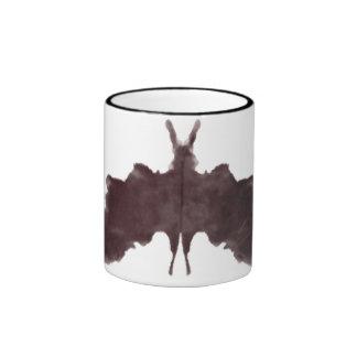Rorschach  InkBlots Test Plate 5 Ringer Coffee Mug