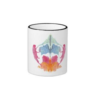 Rorschach  InkBlots Test Plate 8 Ringer Mug