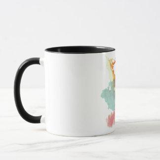 Rorschach  InkBlots Test Plate 9 Mug