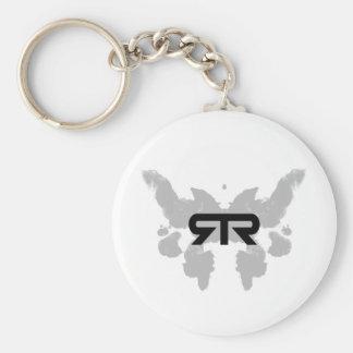 Rorschach keychain 2