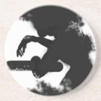 Rorschach stains beverage coasters