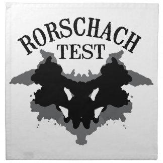 Rorschach Test Cloth Napkin