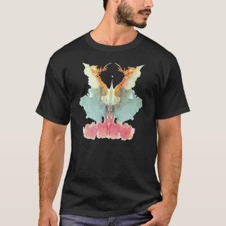 Rorschach Test InkBlots Plate 9 T-Shirt
