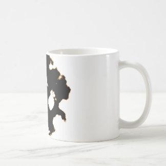 Rorschach Test of an Ink Blot Card Coffee Mug
