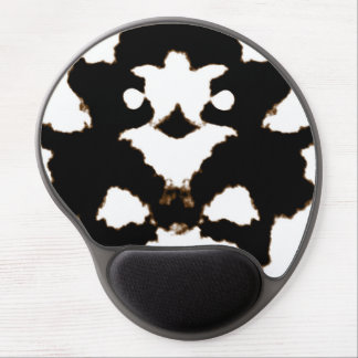 Rorschach Test of an Ink Blot Card Gel Mouse Pad