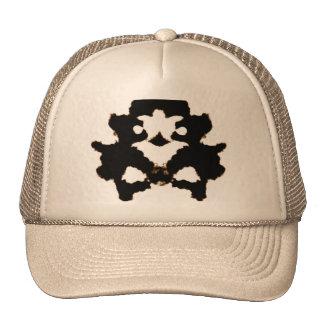 Rorschach Test of an Ink Blot Card Trucker Hat