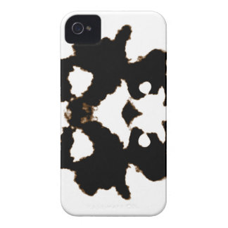 Rorschach Test of an Ink Blot Card iPhone 4 Case-Mate Cases