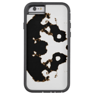 Rorschach Test of an Ink Blot Card on White Tough Xtreme iPhone 6 Case