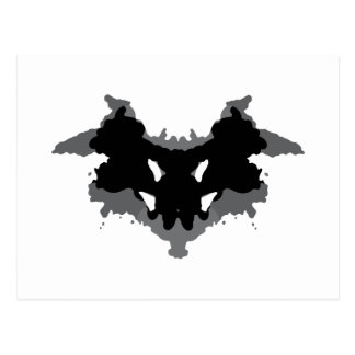 Rorschach Test Postcard