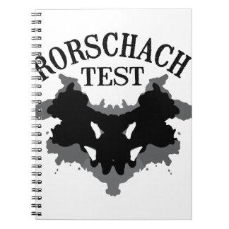 Rorschach Test Spiral Notebook