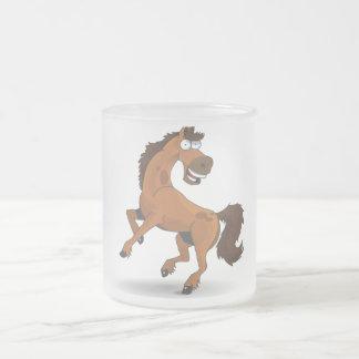 Rory el caballo taza cristal mate
