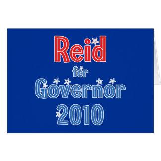 Rory Reid for Governor 2010 Star Design Card
