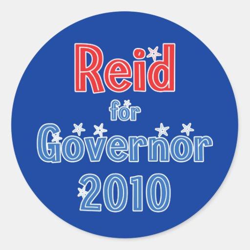 Rory Reid for Governor 2010 Star Design Sticker