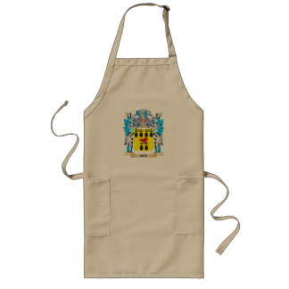 Ros Coat of Arms - Family Crest Long Apron