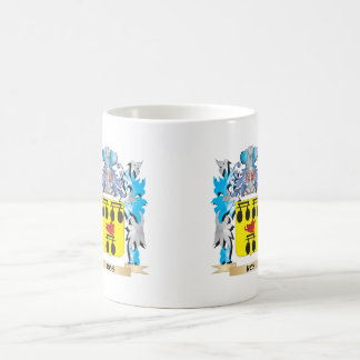 Ros Coat of Arms - Family Crest Classic White Coffee Mug