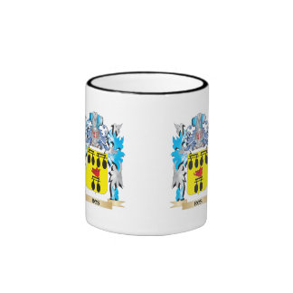 Ros Coat of Arms - Family Crest Ringer Coffee Mug