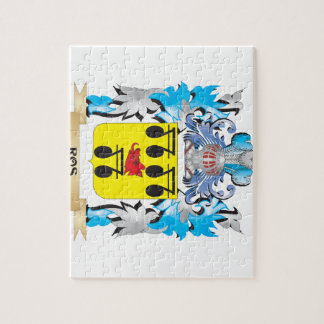 Ros Coat of Arms - Family Crest Puzzle