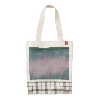 Ros Floral style Zazzle HEART Tote Bag