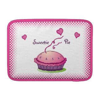 """Rosa 11"""" de la empanada del Sweetie horizontal Funda Macbook Air"""